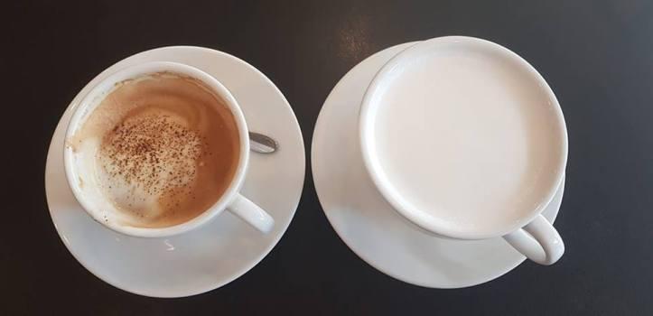 4 cappuccino kevytmaidolla